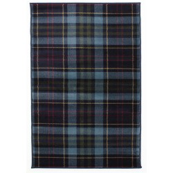 Stirling Tartan Check  Rug, top view