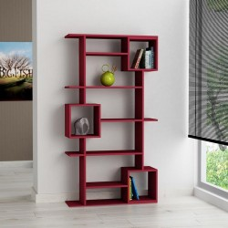 An image of Arbol Bookcase Burgundy