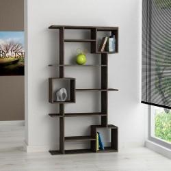 An image of Arbol Bookcase Dark Oak