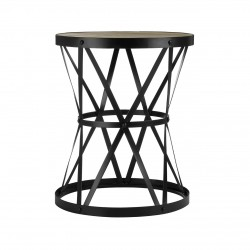 Jensen Industrial Side Table, front view