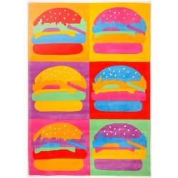 Billie's Burger Menu Rug