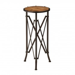 Hatton Industrial Side Table front view