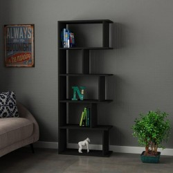 An image of Pero Bookcase Anthracite