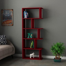 An image of Pero Bookcase Burgundy