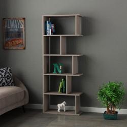 An image of Pero Bookcase Light Moca