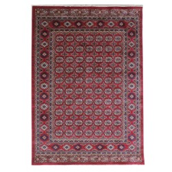 Hazm Traditional Rug, top view