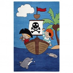 Jack's High Seas Pirate Rug