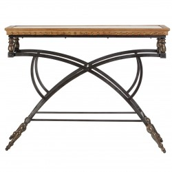 Norval Console Table, front view