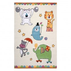 Billie's Circus Time Rug Ivory