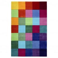 Morgan Multicoloured square Rug