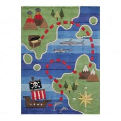 Jolly Jack's Pirate Treasure rug