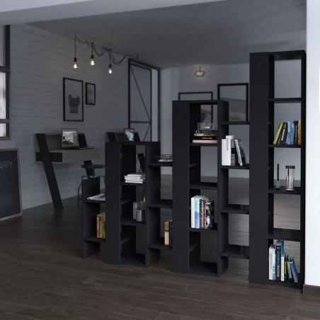 Ascensor Dividir Bookcase Anthracite