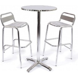 Medusa Aluminium Bar Height Patio Set