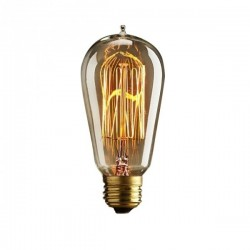Edison Dimmable Squirrel Cage Screw