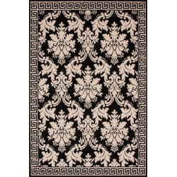 Patterned Rug Top View