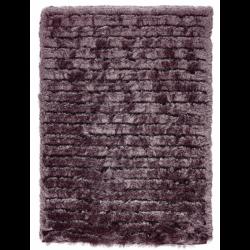 Zahara Carved Rug, mauve - top view