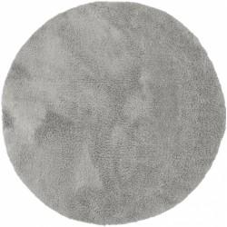 Sophia Shaggy Round Rug - Grey