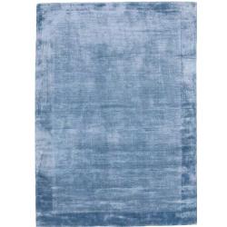 Fukui Bamboo Silky Rugs Blue