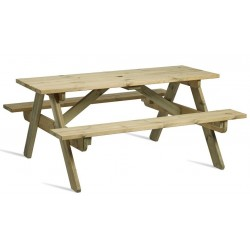 Tamar Wooden Picnic Table