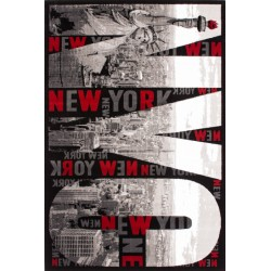 New York Rug Top View