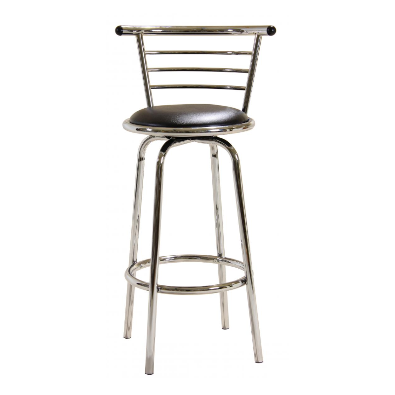 Natan Swivel Bar Stool Wide Back