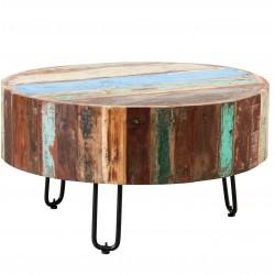 Funki Coastal Drum Coffee table, front view