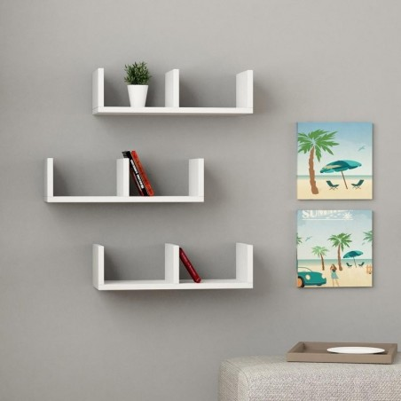 Modelo Floating Wall Shelf White