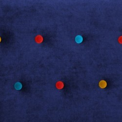 Finn Juhl inspired Poet Sofa Button Detail Royal Blue