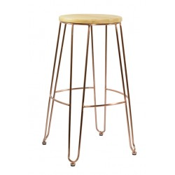 Copper Stool View