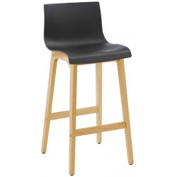 Black Stool Front View