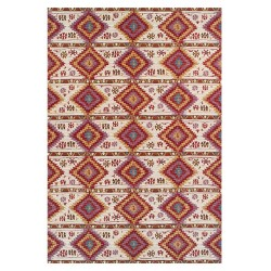 Traditional Rug Top View