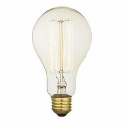 Edison Vintage Bulb Cage Smoked Glass - E27 - A75- 40W