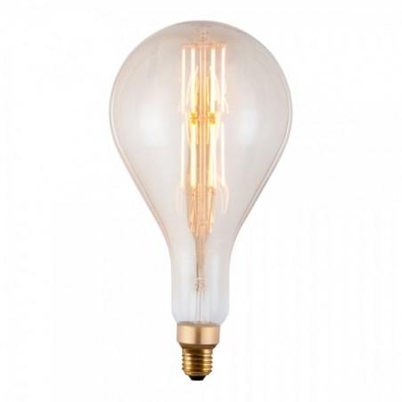 Edison Extra Large PS160 Filament Light bulb on