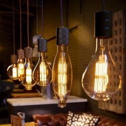 Edison Extra Large  Filament Light bulbs mood shot