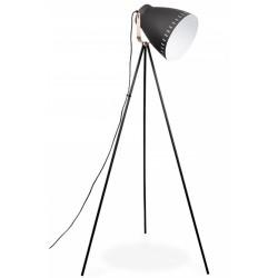 Sunset Tripod Metal Floor Lamp Black