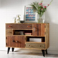 Kota Large  Reclaimed Wood Sideboard 1, room shot