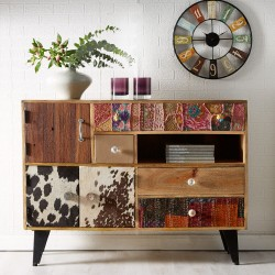 Kota Large  Reclaimed Wood Sideboard 2, room shot