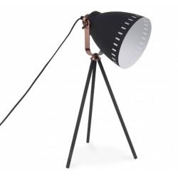 Sunset Tripod Metal Table Lamp Black