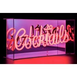 Neon Signs Acrylic Light Box - Cocktails