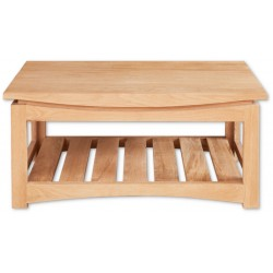 rosciano modern oak coffee table