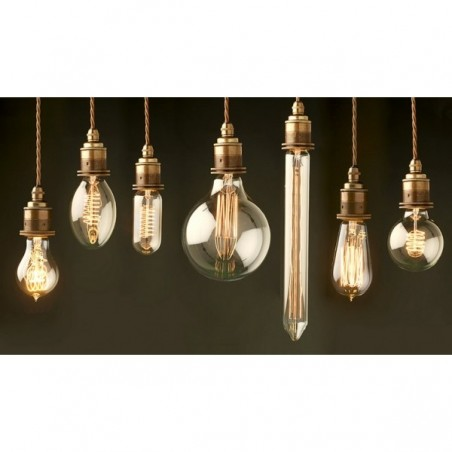 various Edison Filament Light Bulbs