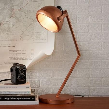 Panna Copper Lamp Stand, mood shot