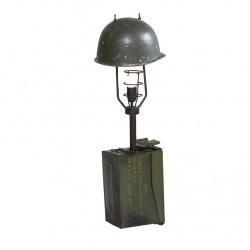 Maski Military Cap Lamp, white background