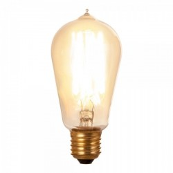 Edison Hair Pin Filament Light Bulb ST58  Dimmable