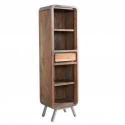 Linford Narrow Bookcase, white background