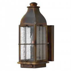 Talpa Vintage Brass Wall Lantern Small