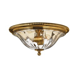 Tynan Brass Flush Mount Light