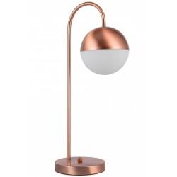 Agudo Metal Table Lamp Copper Lamp off