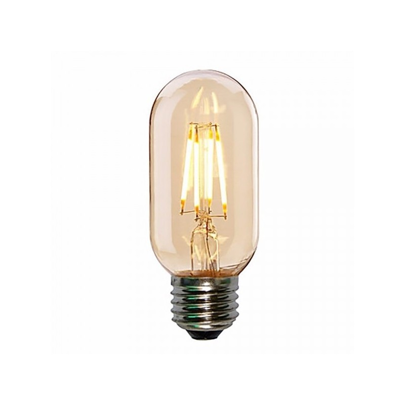 Edison LED T45 Smoked Bulb Mini Tube Filament