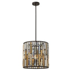 Bardonia Medium Pendant Light Bronze